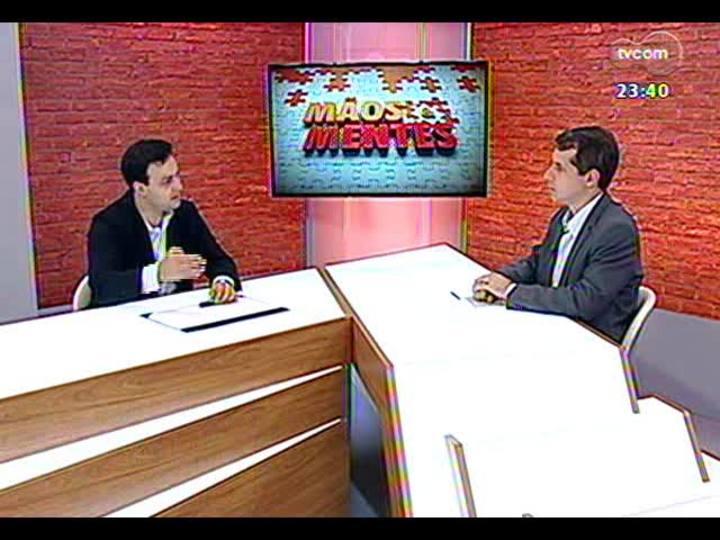 Mãos e Mentes - Neto do ex-presidente Jango, Christopher Goulart - Bloco 4 - 24/11/2013
