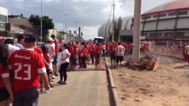 A reabertura do Beira-Rio: o que não funcionou. 15/02/2014