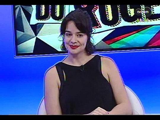 """Programa do Roger - Raquel Karro, diretora espetáculo \"""" O que me toca é meu também\"""" - Bloco 2 - 21/03/2014"""