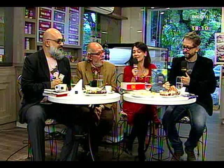 Café TVCOM - Conversa sobre literatura, diretamente do Petites Délices - Bloco 3 - 02/08/2014