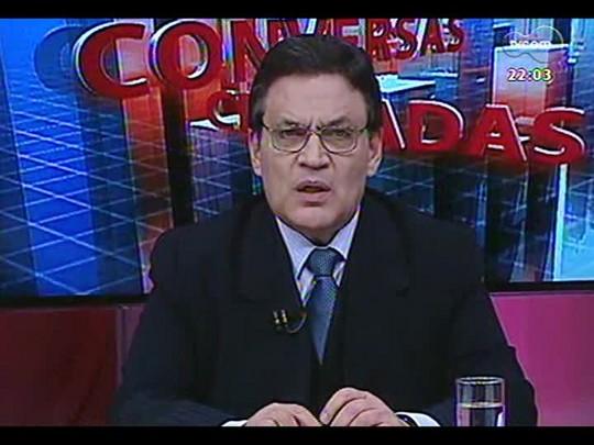 Conversas Cruzadas - Justiça de Caxias do Sul solta quatro réus porque Susepe não os levou para audiência - Bloco 1 - 07/08/2014