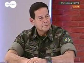 Mãos e Mentes - Comandante Militar do Sul general Antônio Hamilton Martins Mourão - Bloco 4 - 24/08/2014