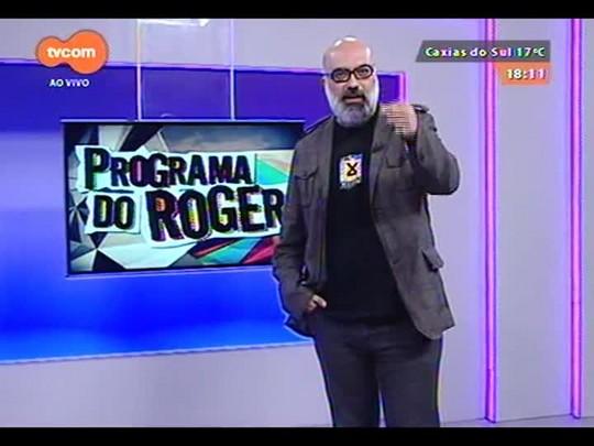 "Programa do Roger - Trailer \""Trash - A esperança vem do lixo\"" + Clipe Tiago Abravanel - Bloco 3 - 07/09/2014"
