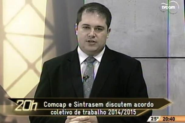 TVCOM 20h - Paralização Comcap - 12.11.14