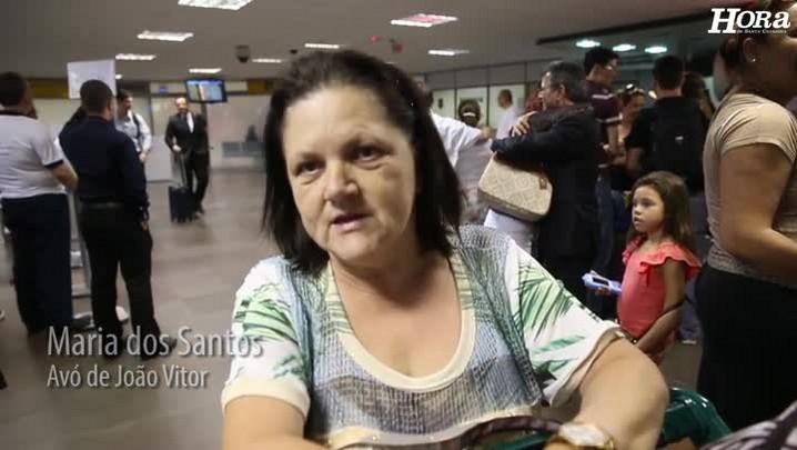 João Vitor se recupera de hemorragia e volta para Florianópolis