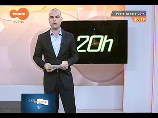 TVCOM 20 Horas - Novo governador eleito José Ivo Sartori define mais dois secretários - 18/12/2014
