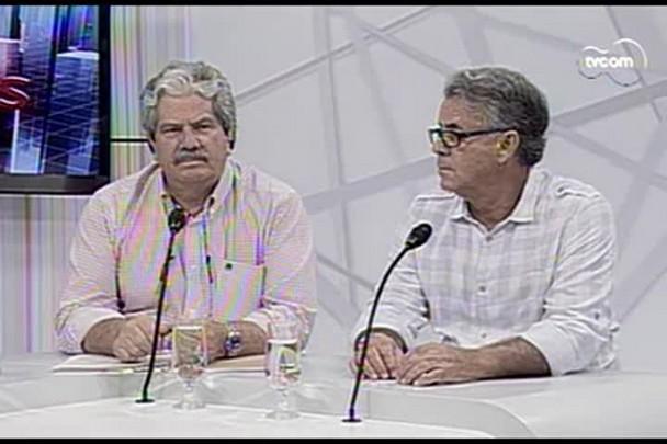 Conversas Cruzadas - O dia mais quente em 66 anos na Grande Florianópolis - 1ºBloco - 16.01.15