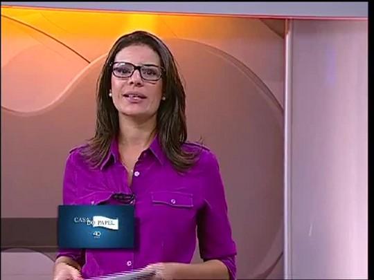 TVCOM 20 Horas - Novos secretários tomam posse na capital - 23/02/15