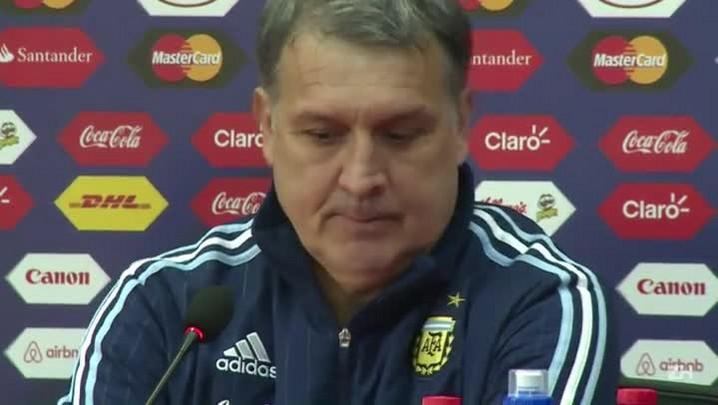 Argentina sob pressão para clássico contra Uruguai