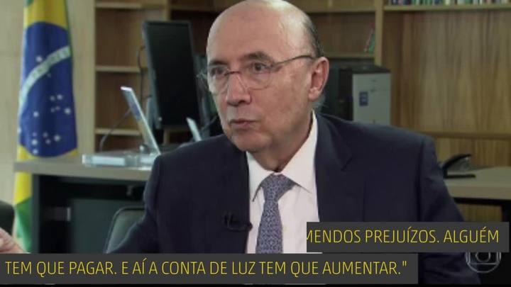 É isso mesmo, Henrique Meirelles?