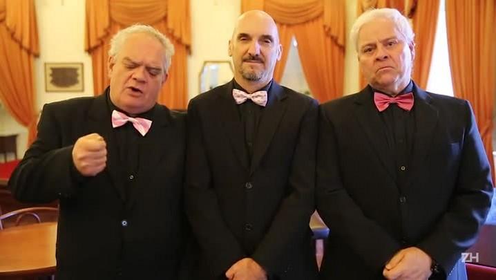 Homens de Perto estreiam terceiro espetáculo