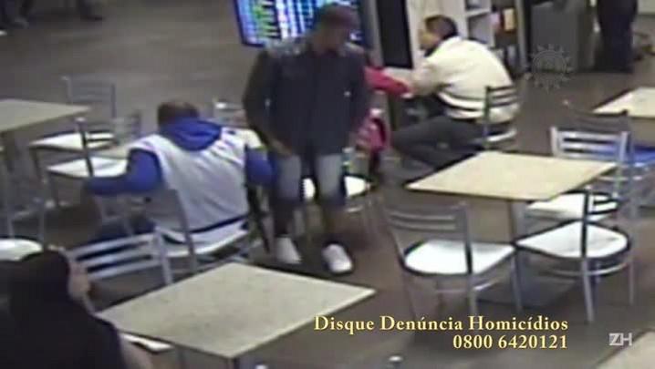 Câmeras de segurança do aeroporto Salgado Filho mostram execução de jovem