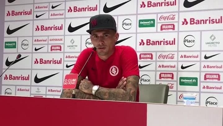 Victor Cuesta defende Paulão e faz críticas à direção anterior do Inter