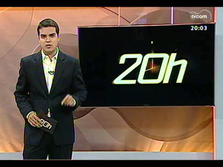 TVCOM 20 Horas - Autoridades dão explicações sobre a tragédia de Santa Maria - 29/01/2013 - Bloco 1