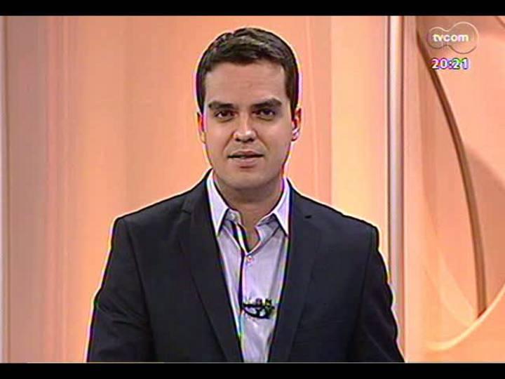 TVCOM 20 Horas - Análise da queda do PIB no Estado - Bloco 3 - 11/03/2013