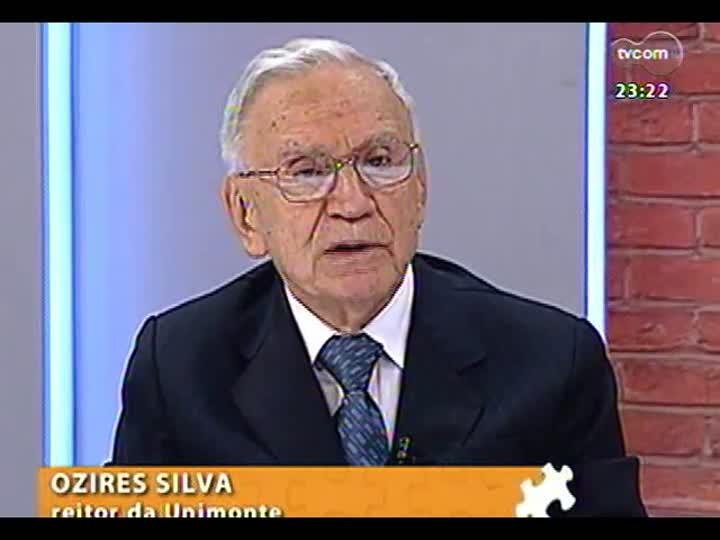 Mãos e Mentes - Fundador da Embraer, ex-presidente da Petrobras e ex-ministro, Ozires Silva - Bloco 3 - 24/03/2013