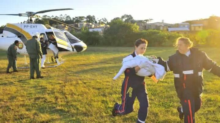 De Livramento para Alvorada: Piloto conta como ocorreu resgate de bebê