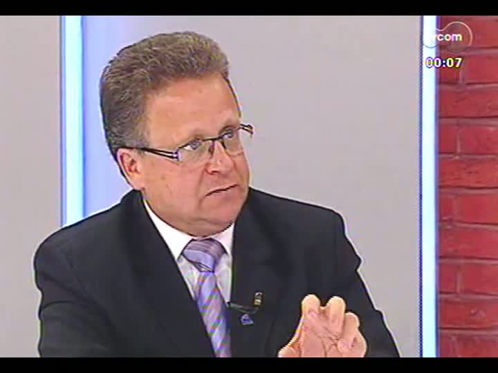 Mãos e Mentes - Presidente do Instituto Rio Grandense de Arroz, Cláudio Fernando Brayer Pereira - Bloco 1 - 11/06/2013