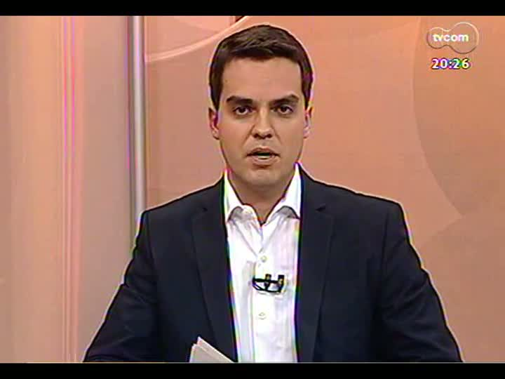 TVCOM 20 Horas - Subdefensor público Felipe Kirchner fala sobre a ação da Defensoria nos protestos, a violência e a ação da Brigada Militar - Bloco 3 - 21/06/2013
