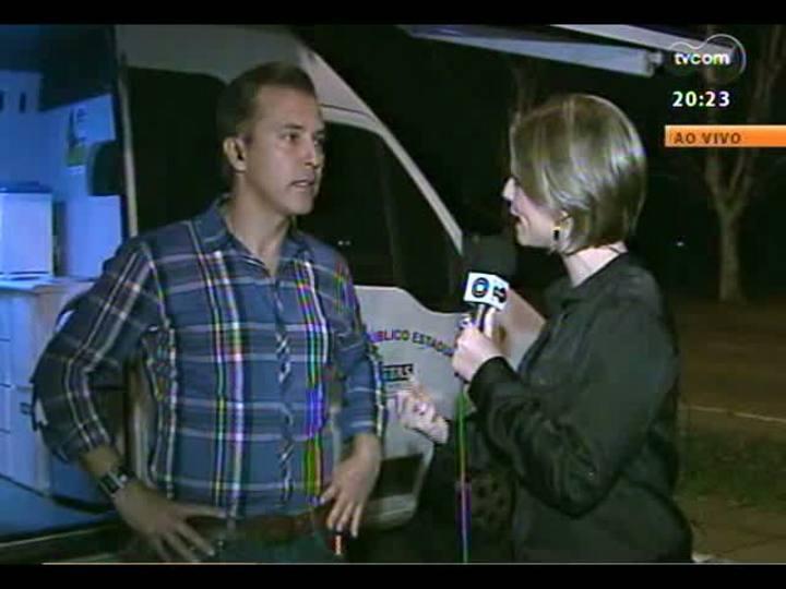 TVCOM 20 Horas - Repórter dá informações sobre a mutirão em busca de trabalhadores - Bloco 3 - 21/08/2013