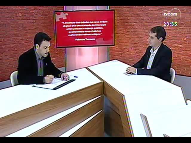 Mãos e Mentes - professor coordenador do curso de design da Unisinos, Fabrício Tarouco - Bloco 4 - 19/09/2013