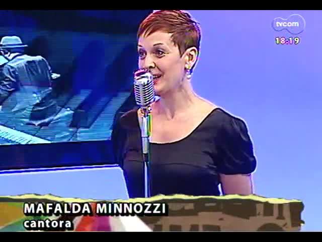 Programa do Roger - Cantora Mafalda Minnozzi lança o disco \'Spritz\' - blobo 4 - 12/11/2013