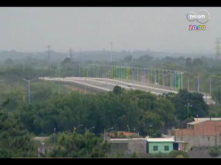 TVCOM 20 Horas - Confira como está a fase final da Rodovia do Parque, que vai desafogar a BR-116 - Bloco 1 - 25/11/2013