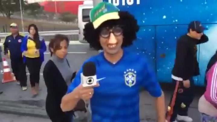 Gigante na Copa: Torcedores comparecem na Arena Corinthians para tentar ver a Seleção
