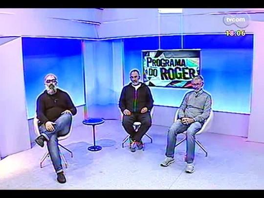 """Programa do Roger - \""""O Homem das multidões\"""" com Marcelo Gomes e Cao Guimarães - Bloco 3 - 21/07/2014"""