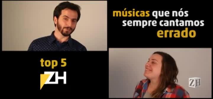 Top 5 ZH: músicas que sempre cantamos errado