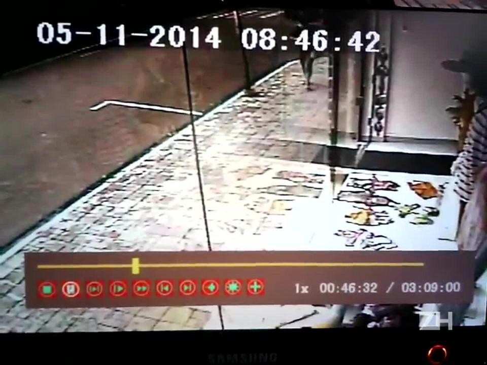 Motorista atropela pedestre e invade loja em Taquari