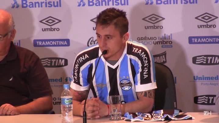 """Cristian Rodríguez: \""""Quando o treinador me ligou, me fez vir\"""""""
