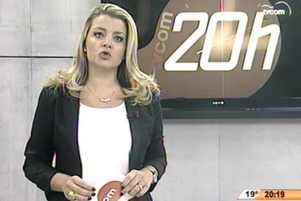 TVCOM 20 Horas - Ônibus é incendiado durante a madrugada no bairro Saco dos Limões - 22.04.15
