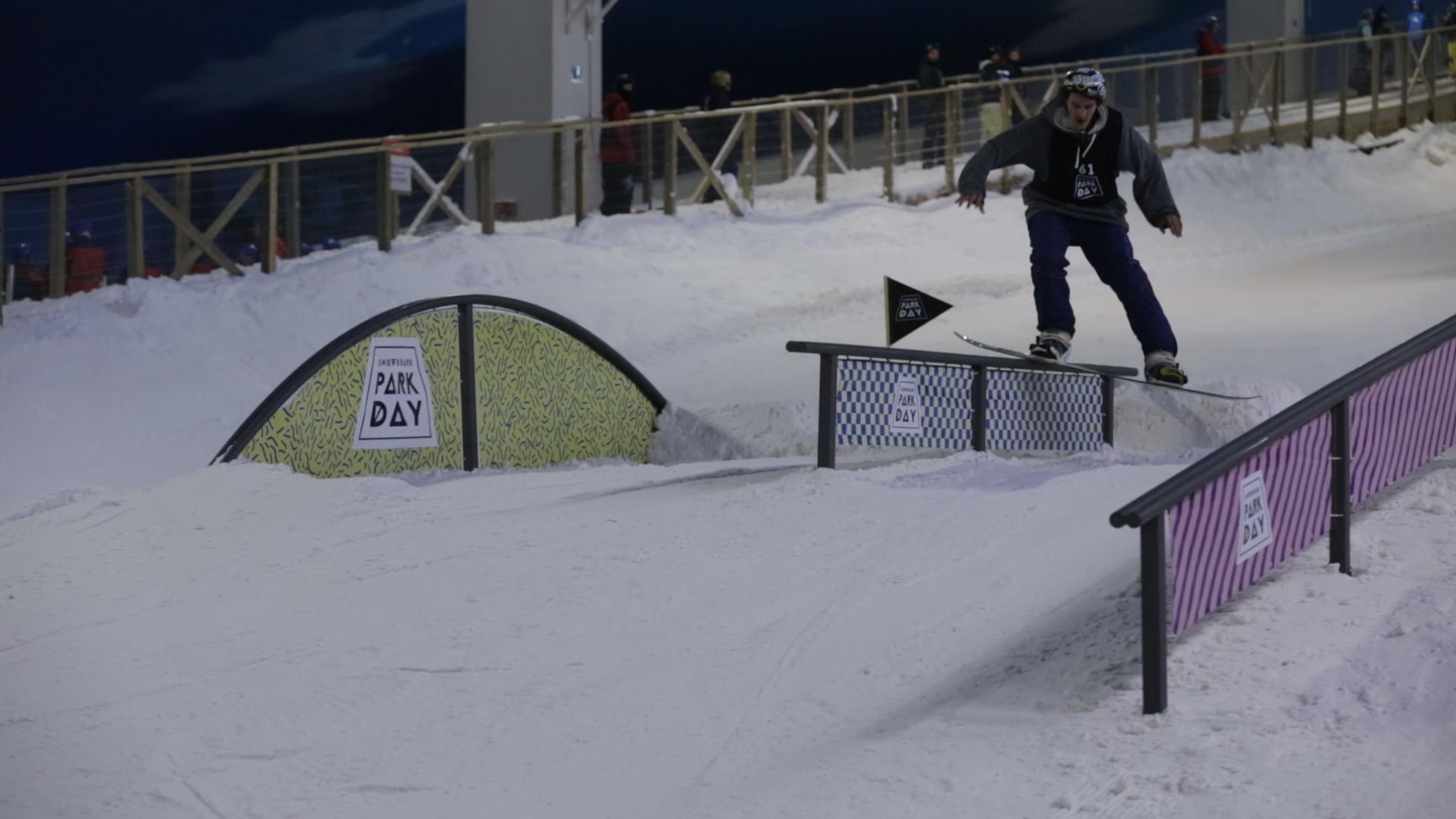 Primeiro campeonato de Snowboard do Brasil