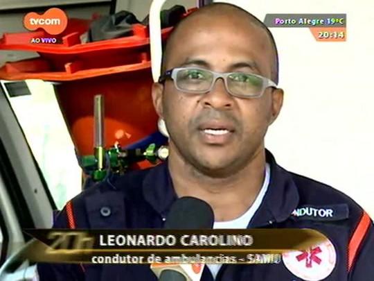 TVCOM 20 Horas - Especial Dia do Trabalho: trabalhadores do Samu falam de sua rotina - 01/05/2015