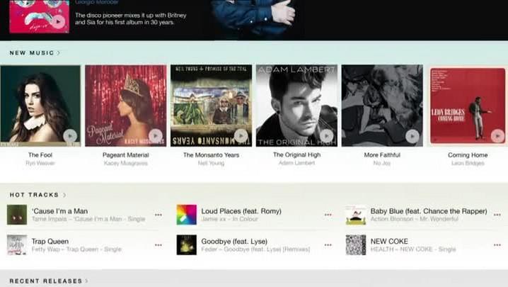Apple Music já está no ar