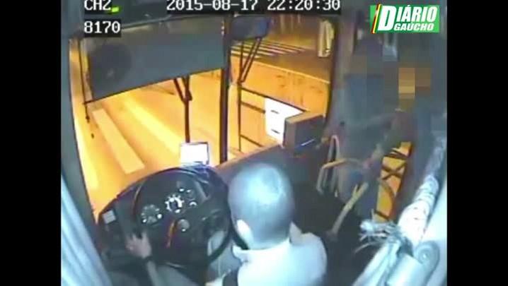Latrocínio em ônibus