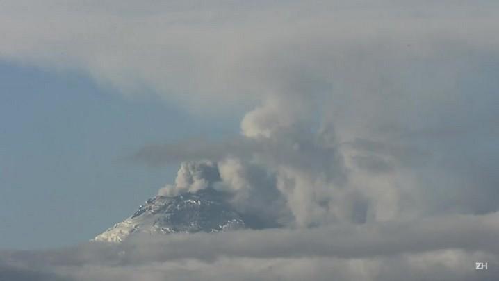 Vulcão deixa Equador em alerta