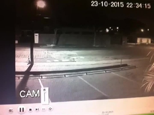 Imagens de segurança mostram sequestro em Joinville