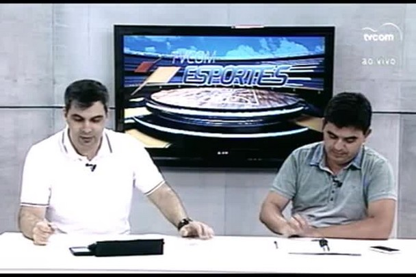 TVCOM Esportes. 4º Bloco. 03.02.16