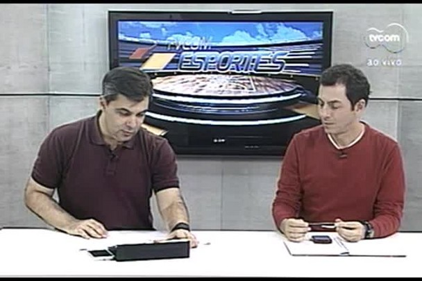 TVCOM Esportes. 2º Bloco. 26.08.16
