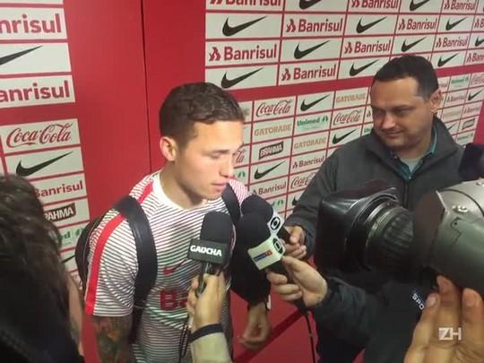 Seijas fala de primeira vitória no Inter