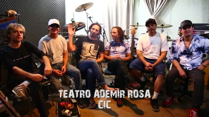 Músicos do Dazaranha convidam para show de lançamento do novo álbum da banda