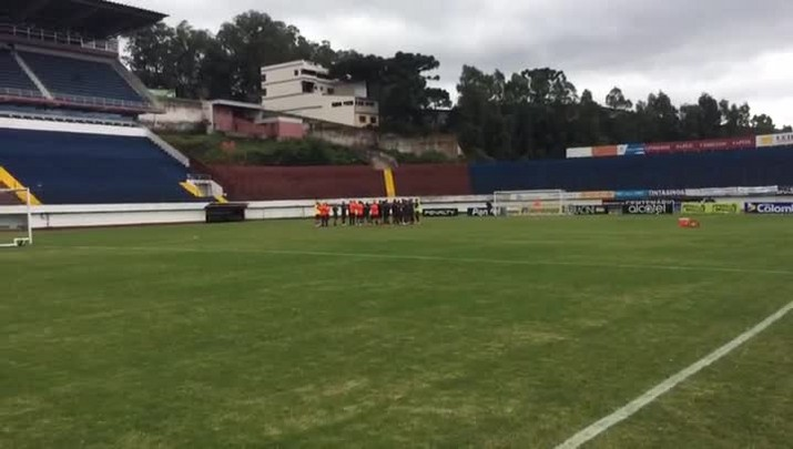 Inter treina no Centenário antes da final do Gauchão