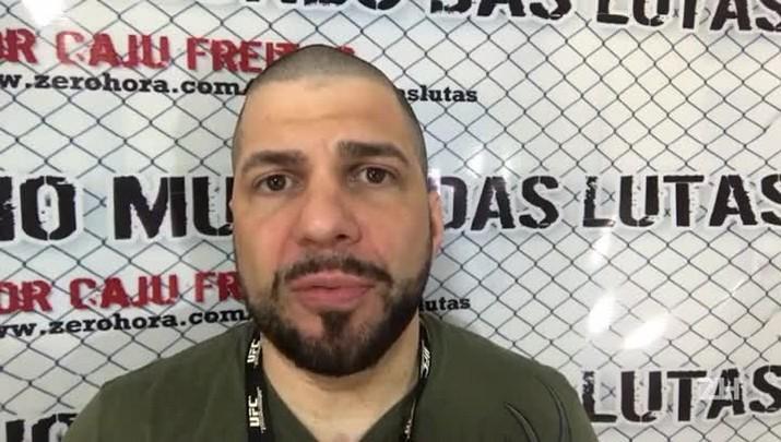 """Caju Freitas: \""""É óbvio que Amanda Nunes mereceu vencer\"""""""