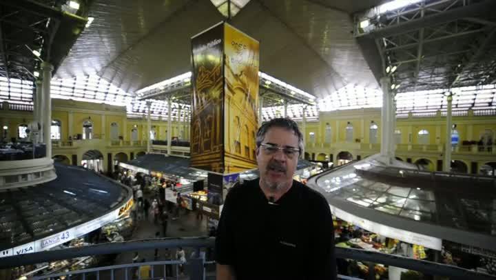 Autor de obra sobre a história do Mercado Público fala sobre seu livro