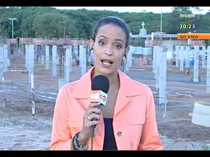 TVCOM 20 Horas - 10/01/2013 - Bloco 3 - Obras no Beira-Rio