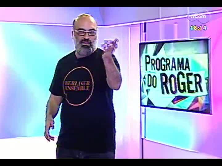 """Programa do Roger - Yamandu Costa traz show \""""Íntimo\"""" - bloco 3"""