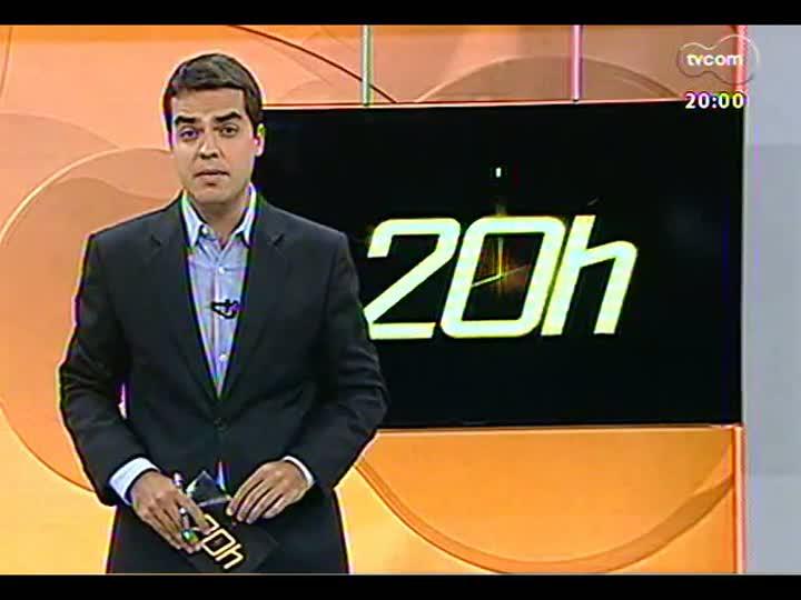 TVCOM 20 Horas - Megaoperação policial prende mais de 30 pessoas - 25/01/2013 - bloco 1