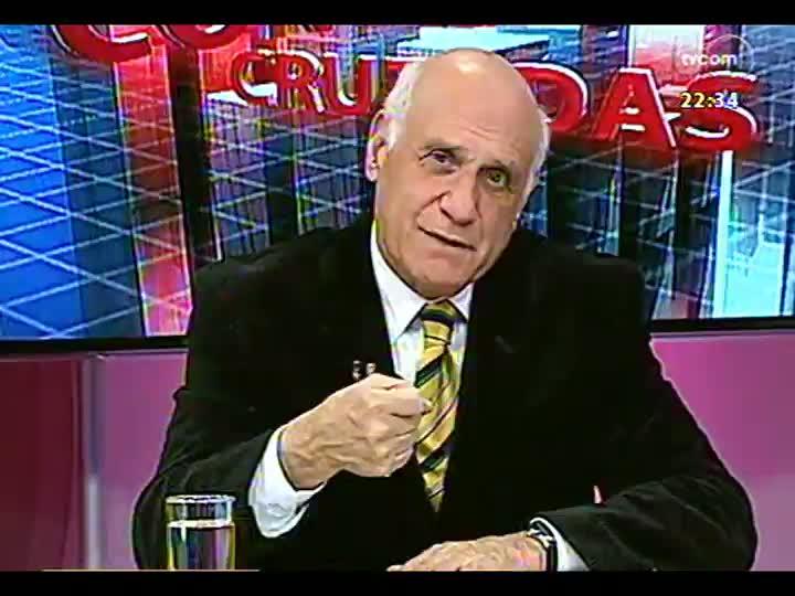 Conversas Cruzadas - Programa analisa da visita do Papa Francisco ao Brasil a a mensagem que ele deve passar para os católicos - Bloco 2 - 22/07/2013